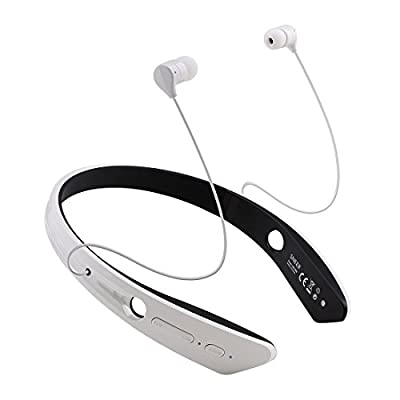 """SNEER """"iSport"""" Series Premium 2014 Newest Mini Wireless NFC Bluetooth Headset Stereo Sports/Running & Gym/Exercise Bluetooth Earbuds Music Ultra-light Headphones Headsets w/Microphone for Iphone 6 5S 5C 4S 4, Ipad 2 3 4 New iPad,iPad Air Ipod, Android, Sa"""
