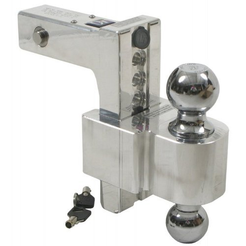 Double Hitch Ball Locking Double Ball Hitch