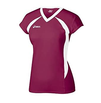 Buy Asics Setter Ladies Athletic V-Neck Shirt by ASICS