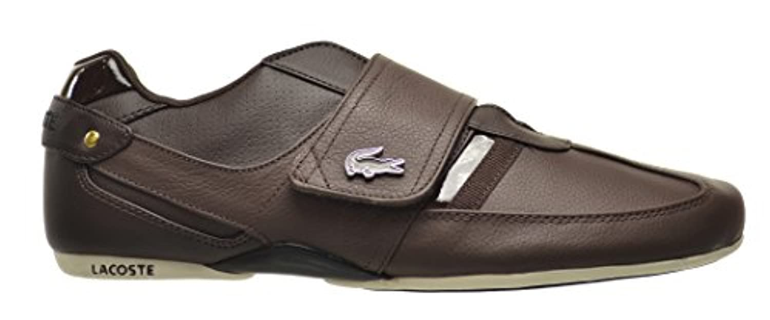 526ed2669 Leather Shoes Men s Dark Protected Lacoste Brownnatural Lux Spm Us WvzPHBZq