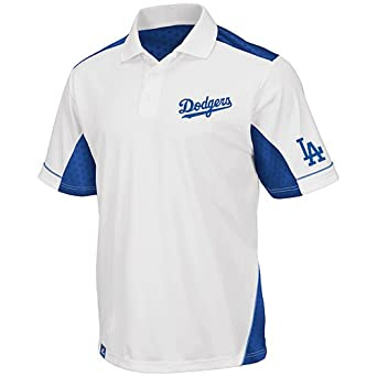 Los Angeles Dodgers Majestic MLB Victory Anthem Performance Polo Shirt by Majestic