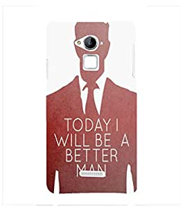 Fuson Premium D13165 Printed Hard Plastic Back Case Cover for Coolpad Note 3