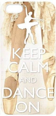 Keep Calm and Dance On Plastic Iphone 5 Case