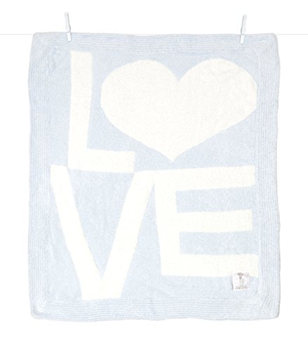 Little Giraffe Dolce LOVE Blanket Blue