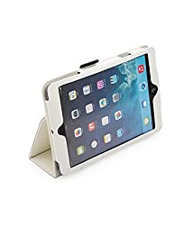 GeekGoodies White Tablet Book Case Cover for Apple ipad Mini