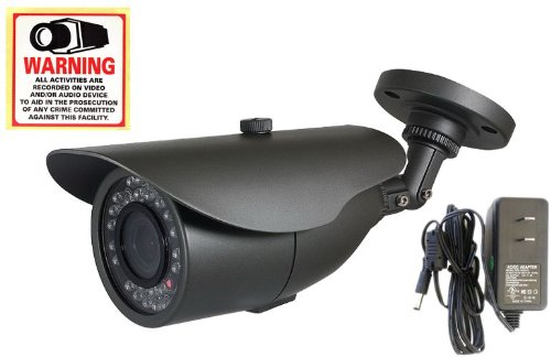 Evertech Cctv Infrared Security Camera - 30 Ir Led(82ft Night Vision) Cctv Camera, 1/3 Inch Sony Super HAD Ccd, 700 Tv Line High Resolution 3.6mm Lens, Indoor/outdoor Bullet Surveillance Camera.