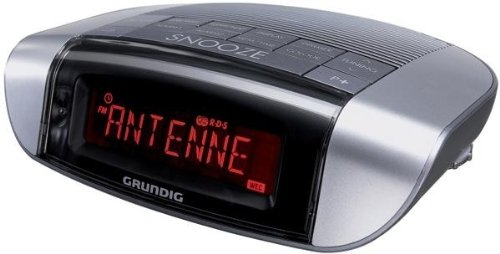 Grundig GKR1600 Sonoclock 660 - Radiosveglia (Silver-Black)
