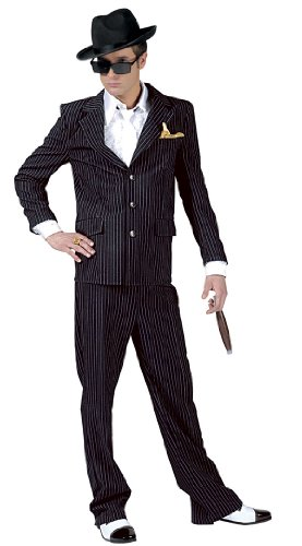 Deluxe Clyde Gangster Costume - Mens Large 46-48