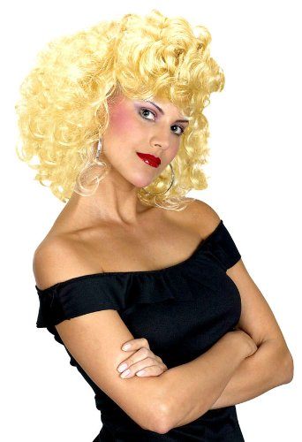 Sandy's Cool Grease Costume Wig - Adult Std. (Sandys Cool Grease Costume Wig)