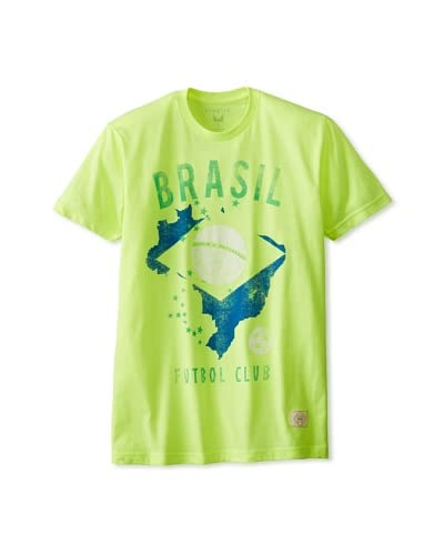 Kinetix Men's Pima Brasil Crew T-Shirt