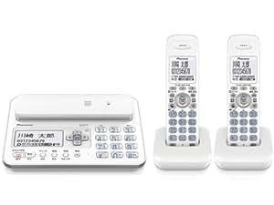 Pioneer デジタルコードレス電話機 受話器コードレス子機2台付き 1.9GHz DECT準拠方式 ホワイト TF-FA70T-W