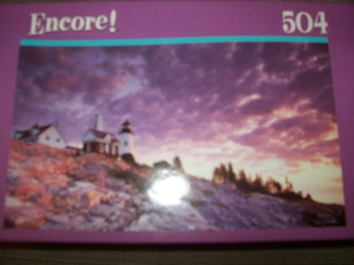 Mega Puzzles Pemaquid Point 504 Piece Jigsaw Puzzle - 1
