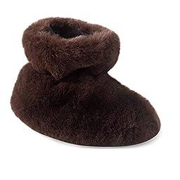 Acorn A10918 Kids Tex Easy Bootie Slipper,Brown Bear,TXL