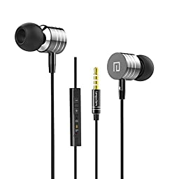 In-Ear Earbuds,Maxdara In-Ear Headphones Cell Phone Headset Earphones Built-In Mic & Call Answer For iPhone 6S 6,iPhone 6S 6 Plus,iPod,Galaxy S6 S6Edge,S6Edge Plus,Note 5 and Android Phones - Black
