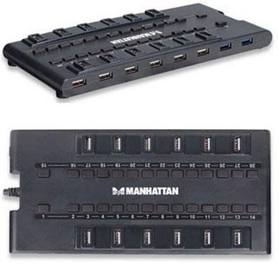 "Manhattan - Mondohub ""Product Category: Usb Hubs & Converters/Hubs Usb"""