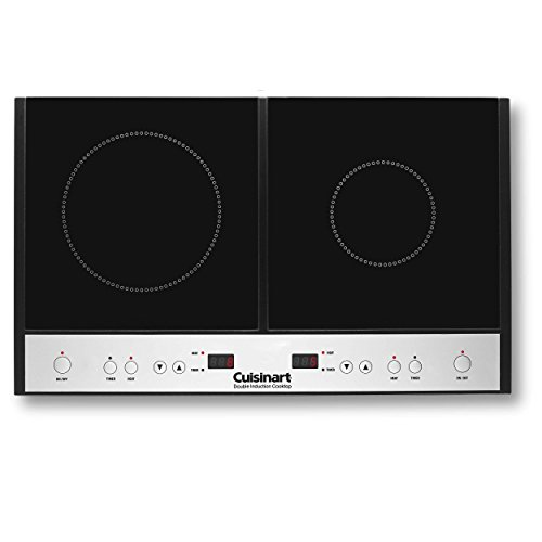 Cuisinart ICT-60 Double Induction Cooktop, Black (Inductions Cooktop compare prices)