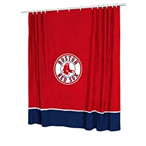 "Boston Red Sox MVP Curtains - 82""x63"""