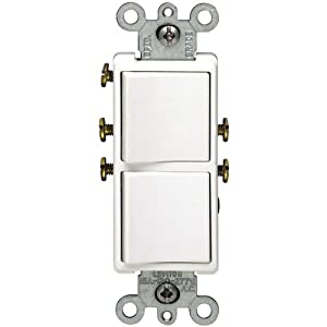 light switch wiring diagram double pole double decora light switch wiring diagram leviton double rocker switch wiring diagram leviton free #8