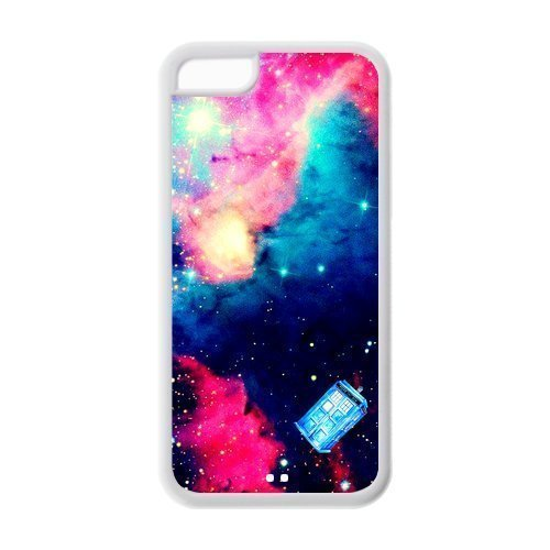 Hipster Doctor Who Galaxy Space Universe Phone Case [Customizable by Buyers] [Create Your Own Phone Case] Slim Fitted Hard Protector Cover for iPhone 6