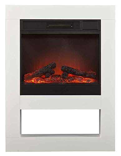 Holly and Martin Mofta Electric Fireplace, White