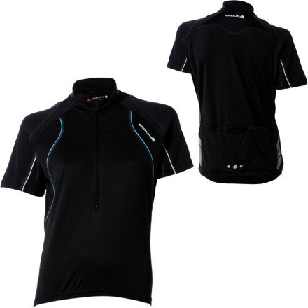 Buy Low Price Endura Women's Rapido Jersey (E6034BU/5)