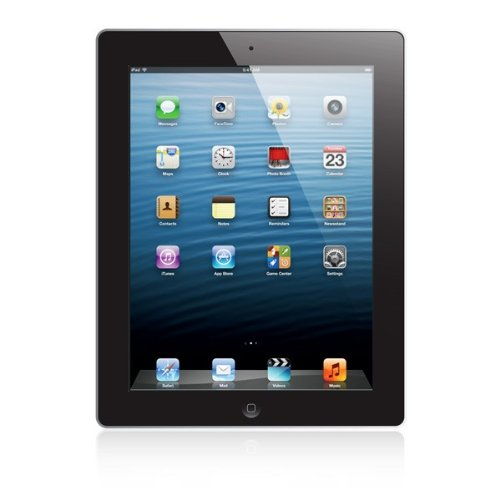 Apple iPad with Retina Display MD524LL/A (64GB, Wi-Fi + Verizon, Black) NEWEST VERSION