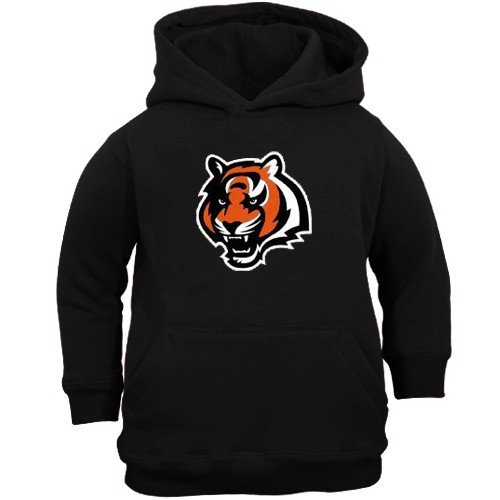 Reebok Cincinnati Bengals Youth Black Primary Logo Hoody Sweatshirt (Large) Amazon.com
