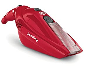 Dirt Devil BD10050RED Scorpion Cordless Bagless Hand Vacuum