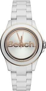 Bench - BC0426RSWH - Montre Femme - Quartz Analogique - Bracelet Plastique Blanc