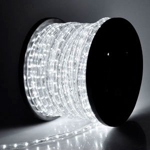 Christmas Xmas New Year Lighting Led Rope Light 150Ft White Ii W/ Connector