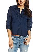 Blauer USA Camisa Mujer (Azul Marino)