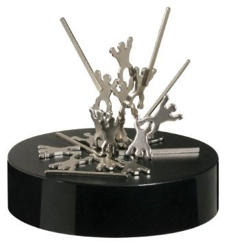 Magnetic Desktop Sculpture - Acrobatic Troupe - 1