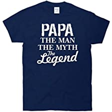 Papa The Man Myth Legend T-Shirt