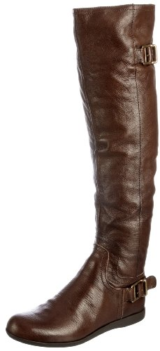 Nine West Women's Nettle Coffee Bean (Dark Brown) Knee High Boots 2344431109 5 UK