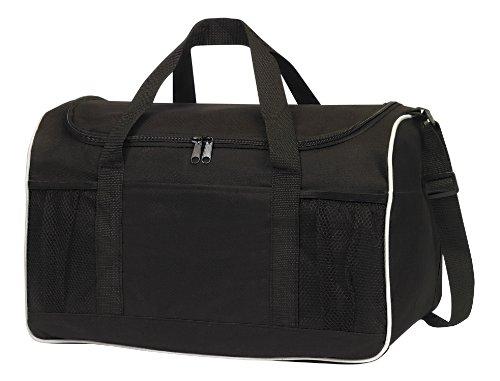 Imagen de Sports Gym Duffel Bag Large abertura de la cremallera, Negro por BOLSAS PARA LESSTM