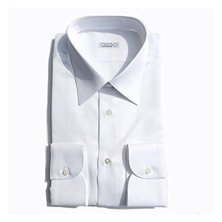 (ジリー)ZILLI シャツ 無地 織柄 44サイズ ホワイト