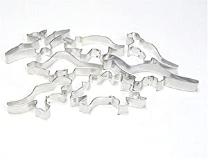 Dinosaur Cookie Cutters - Set of 7