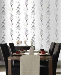 SuperFresco Easy Jardin Wallpaper - Silver from New A-Brend