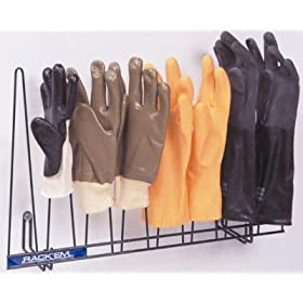 glove rack dark green pvc coated for high moisture chemicals holds 4 pairs dimensions 14h x 22w x 525d home improvement amazoncom alba pmclas chromy