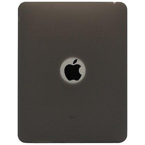 Imagen de La jalea del silicón Cubierta Amzer Skin Fit Funda para Apple iPad - Gris (AMZ22268)