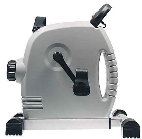 Isokinetics Inc. Magnetic Pedal Exerciser - Gray - With Anti-Slip Strips