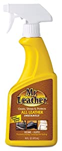 Mr. Leather 707371 Cleans, Shines and Protects Leather Conditioner One Step Liquid Spray - 16 oz. by Mr. Leather