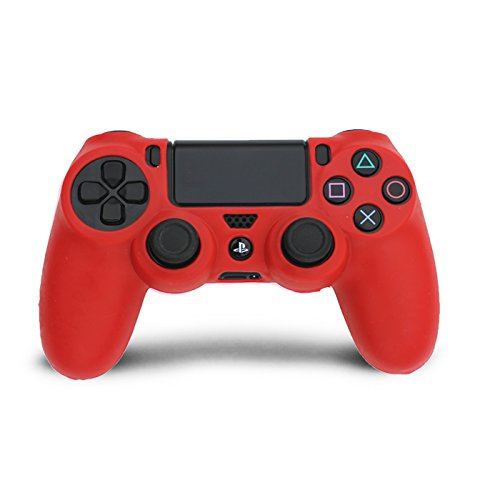 HDE-PS4-Controller-Skin-Silicone-Rubber-Protective-Grip-for-Sony-Playstation-4-Wireless-Dualshock-Game-Controllers