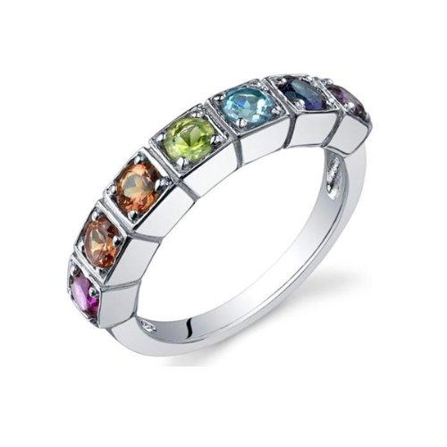 Blue Pearls - Multi stones Ring APM 5010 P