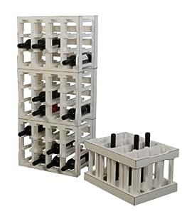 weinkiste weinregal modul bauweise f r 12 flaschen in. Black Bedroom Furniture Sets. Home Design Ideas