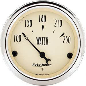 Auto Meter 1837 Antique Beige Water Temperature Gauge