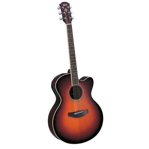 Yamaha cpx 500 acoustic electric guitar in natural for Yamaha fgx720sca price