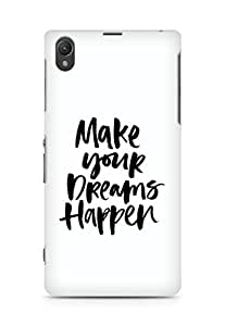 AMEZ make your dreams happen Back Cover For Sony Xperia Z1 C6902