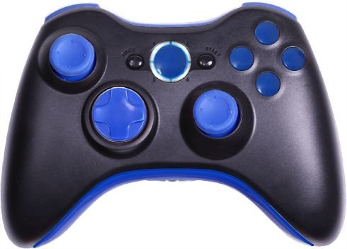 Cc Mega Mod: Drop Shot, Adjustable Rapid Fire, Jitter, Fast Reload, Auto Aim Zombies, + More - Xbox 360 Modded Controller Cod, Black Ops 2, Rapid Fire (Black/Dark Blue)
