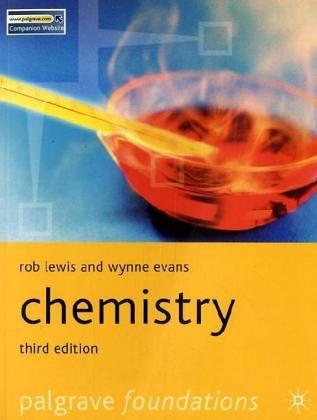 Chemistry (Palgrave Foundations)
